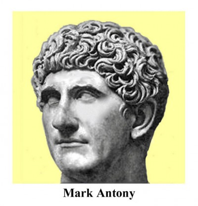 biography about mark antony and octavian